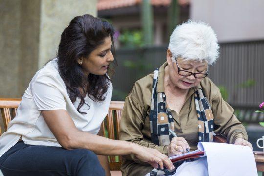 older woman estate planning